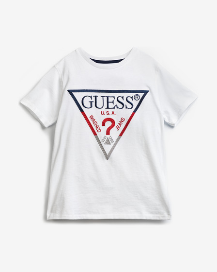 Guess Embroidery Front Logo Тениска
