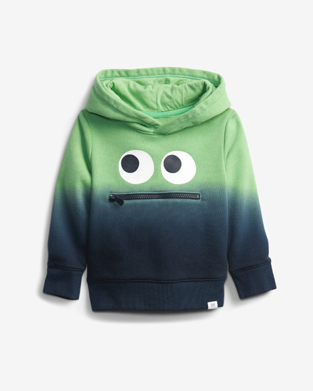 GAP 3D Monster Dip-Dye Суитшърт детски