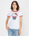 Levi's Perfect Ringer Hello Kitty Тениска