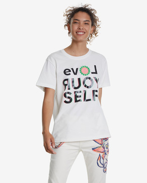 Desigual Love Your Self Тениска