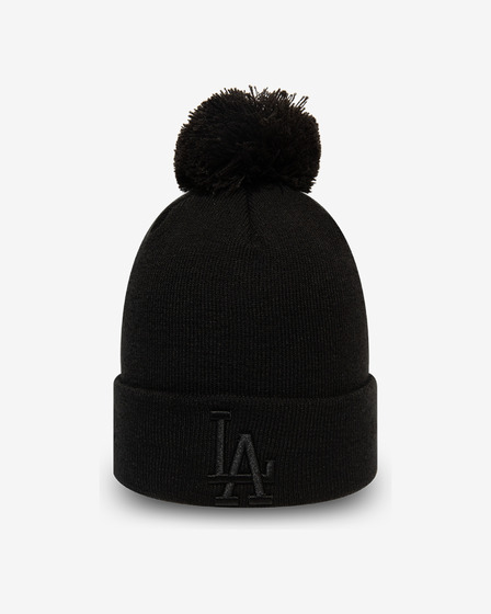 New Era League Essential Bobble Knit LA Dodgers Плетена шапка