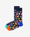 Happy Socks Dog Gift Box Чорапи 2 чифта